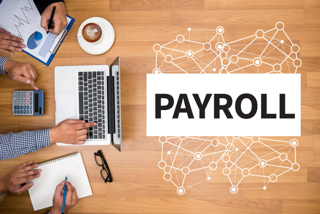 man running payroll for his company