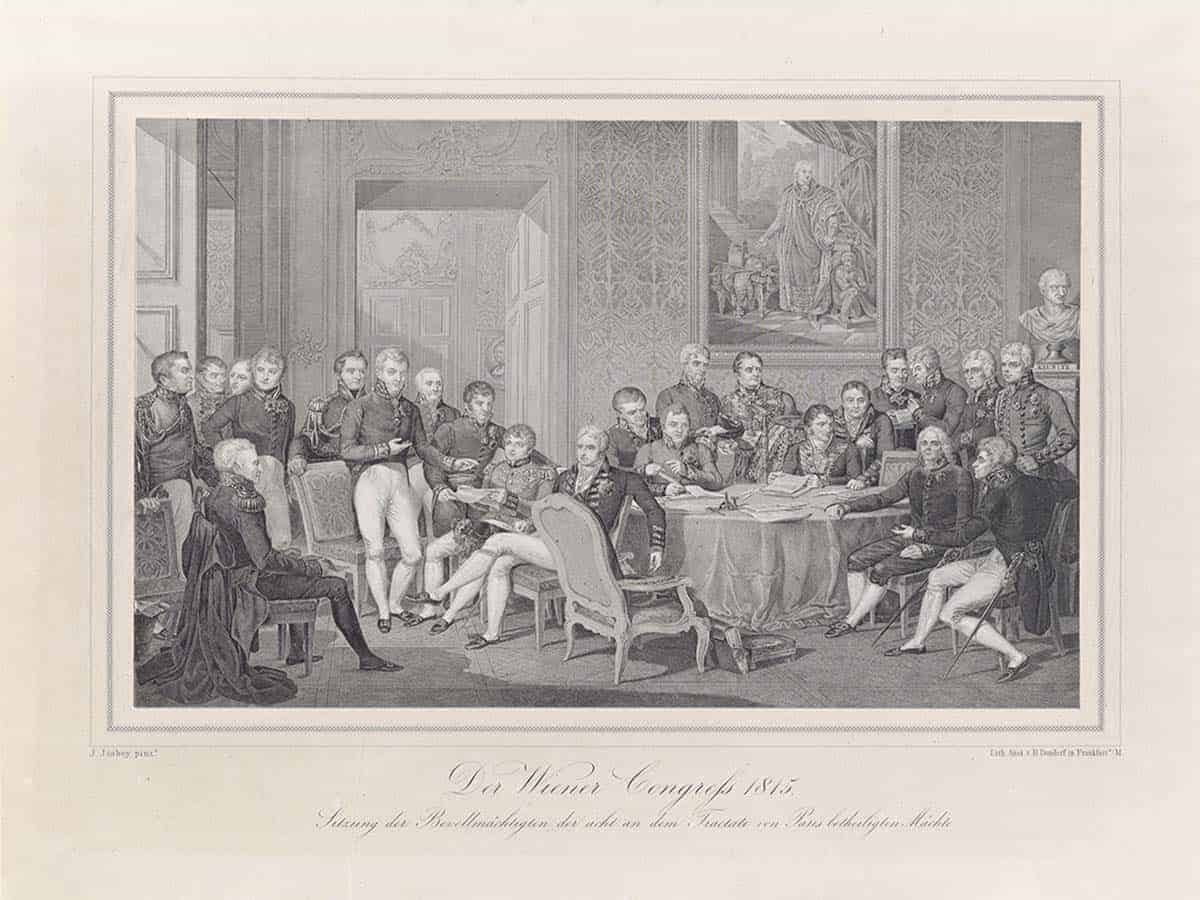 What Was The Goal Of The Congress Of Vienna