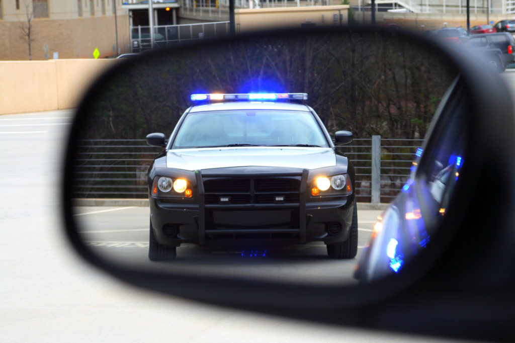 police traffic stop