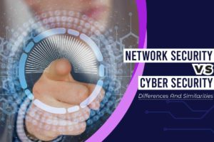 Network security vs cyber security