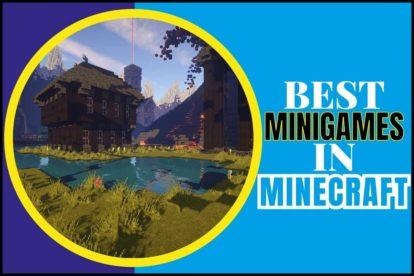 BEST MINIGAMES IN MINECRAFT